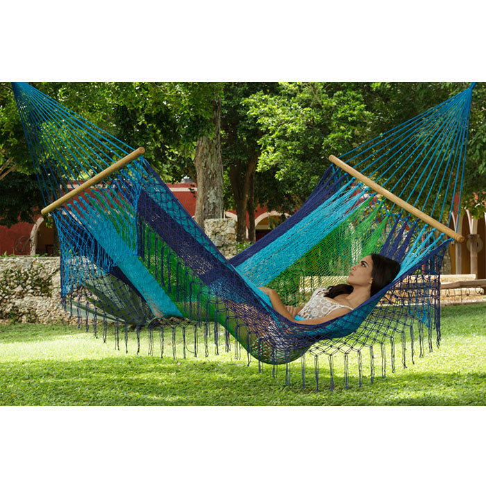 Resort Mexican Hammock with Fringe Oceanica