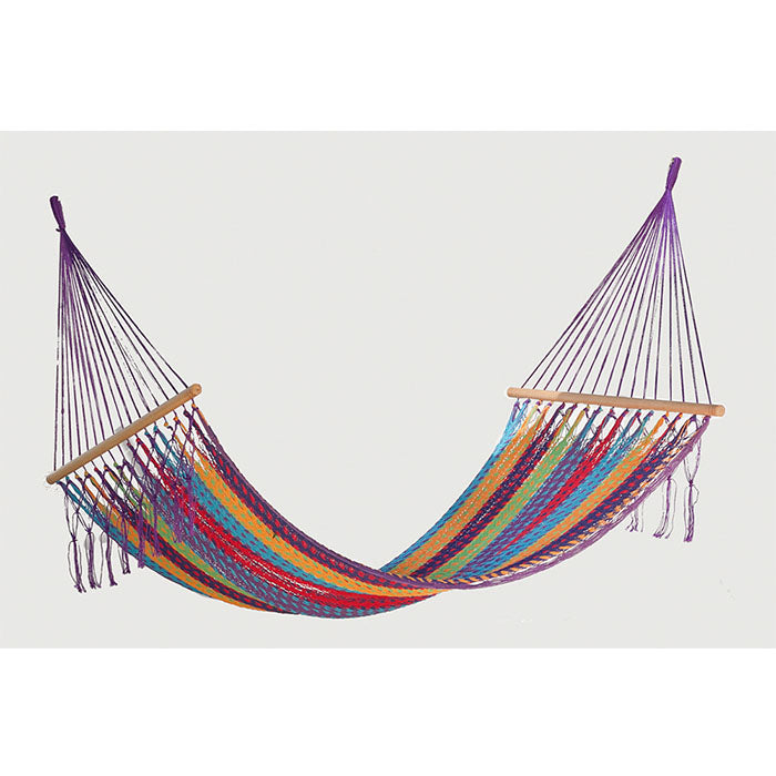 Resort Mexican Hammock with NO Fringe in Colorina - Notbrand