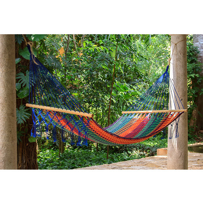 Resort Mexican Hammock with NO Fringe in Mexicana - Notbrand
