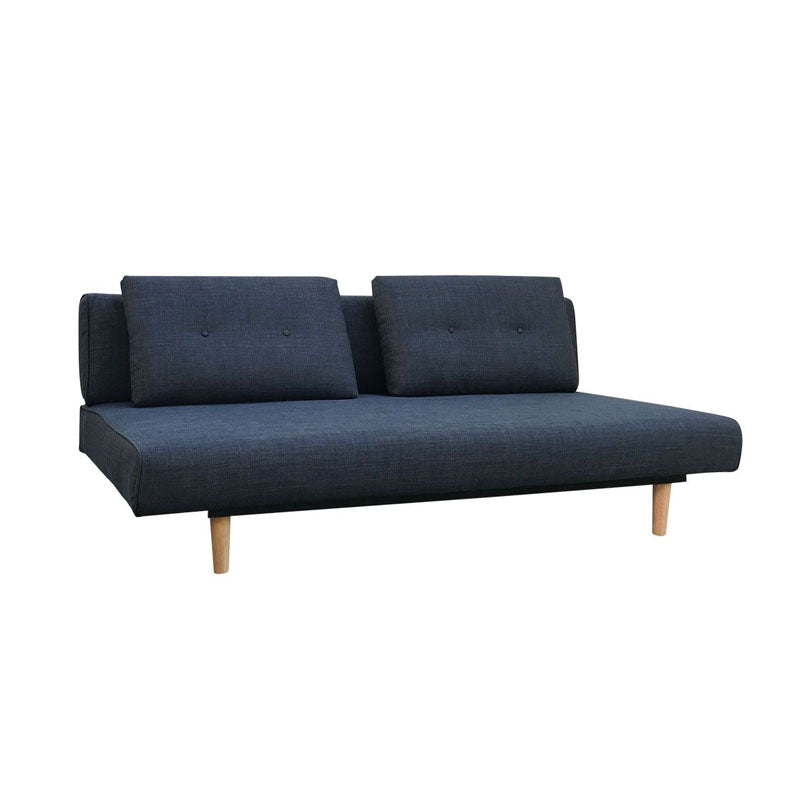 Rio 3 Seater Dark Grey Sofa Bed - Notbrand