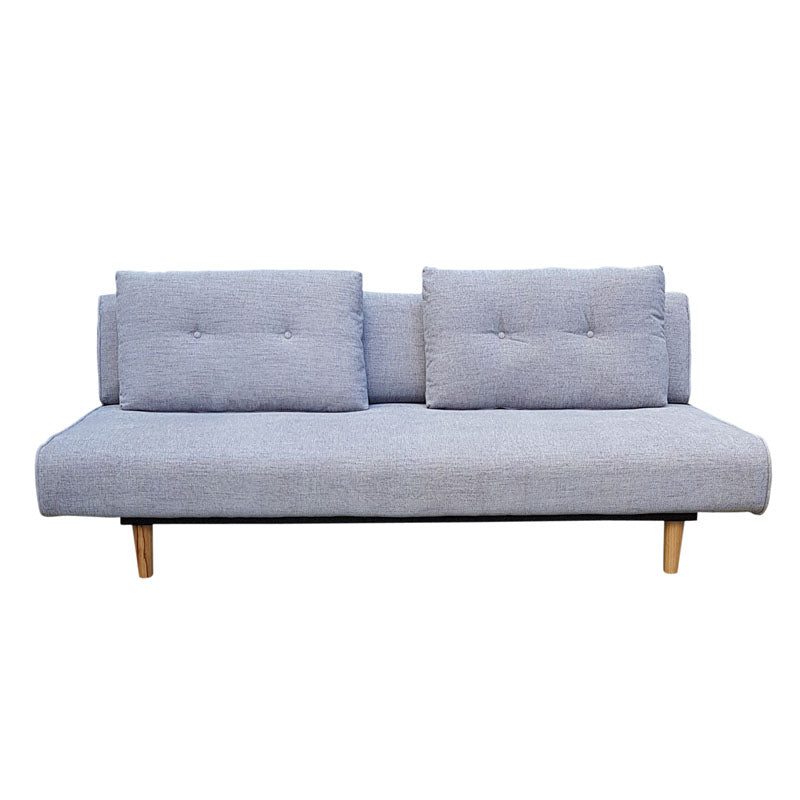 Rio 3 Seater Light Grey Sofa Bed - Notbrand