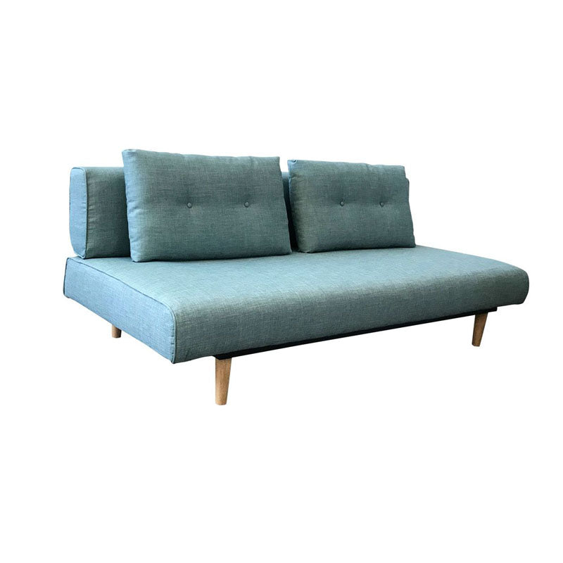 Rio 3 Seater Teal Sofa Bed - Notbrand
