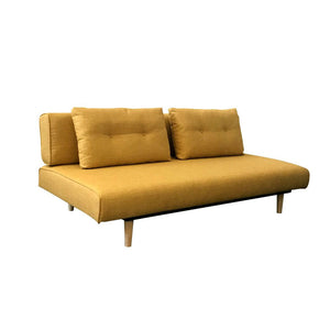 Rio 3 Seater Yellow Sofa Bed - Notbrand