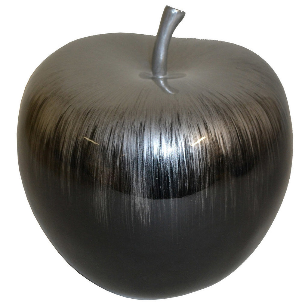 Hand Painted Lacquer Apple Sculpture - Notbrand