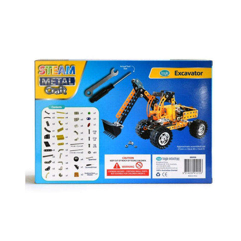 S.T.E.A.M Metal Craft Excavator Construction Kit - Notbrand