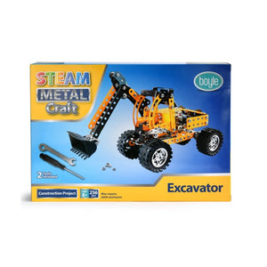 S.T.E.A.M Metal Craft Excavator Construction Kit