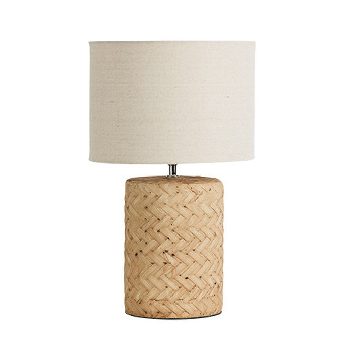Salvage Concrete Lamp