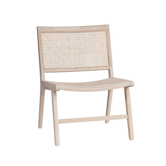Selby Cane Lounge Chair - Notbrand