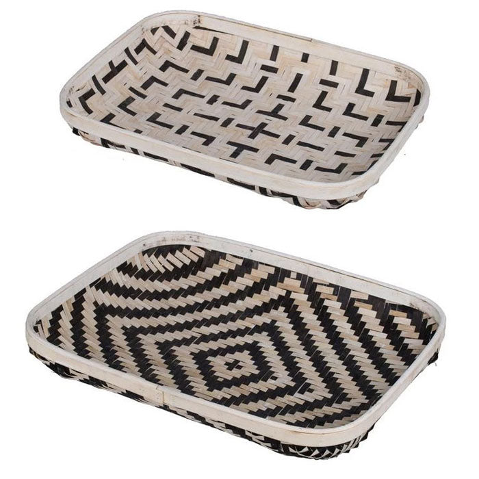 Set of 2 Organic Elements Trays - Notbrand