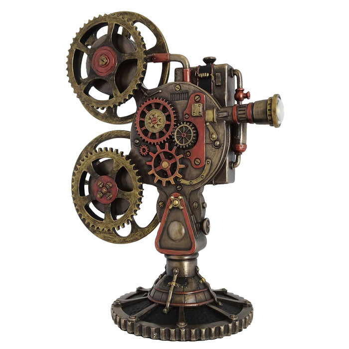 Steampunk - Film Projector With Led Light - Notbrand