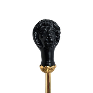 Lion Head Shoe Horn with Brass Stick - Notbrand