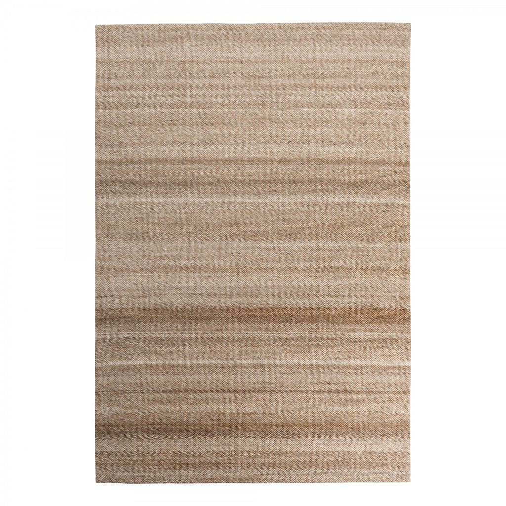 Signature Brown Hand Woven Jacquard Rug