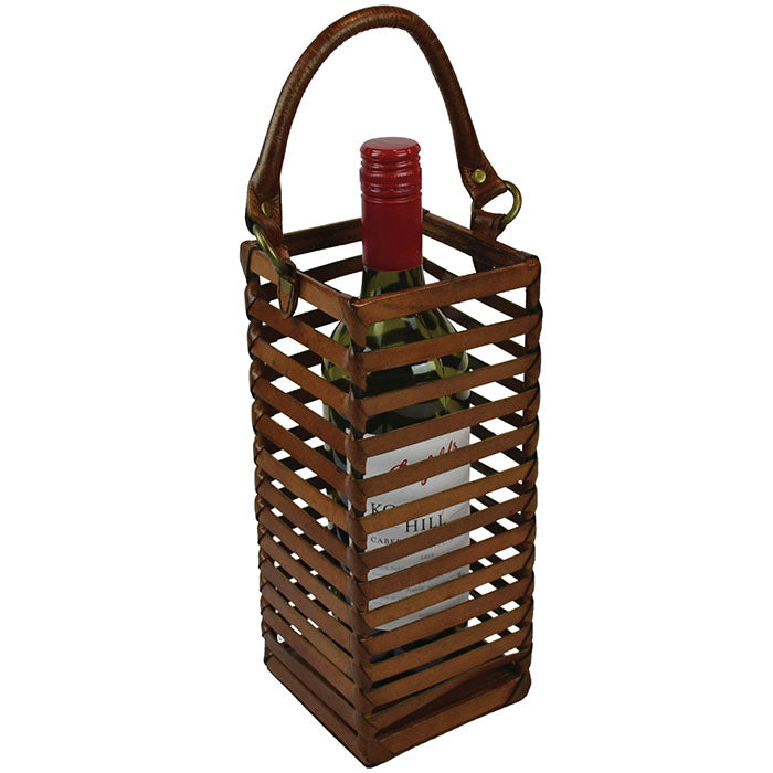 Caged Single Bottle Wine Holder - Notbrand