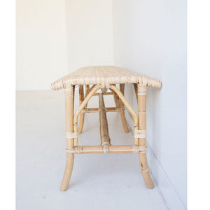 Romulus Backless Bench – Natural - Notbrand