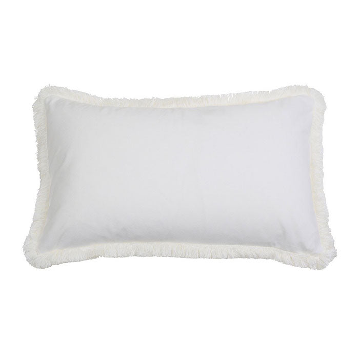 St. Kilda White Cushion Recatangle - Notbrand