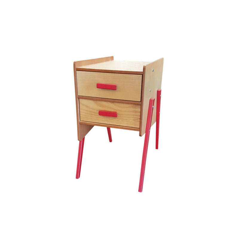 Red Swing End Table