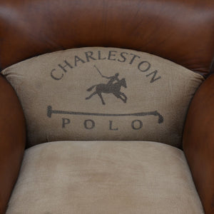 Charleston Polo Vintage Arm Chair - Notbrand