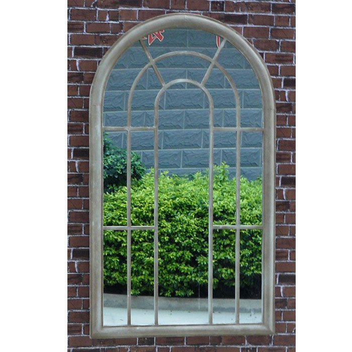 Tracey Metal Frame Garden Window Mirror