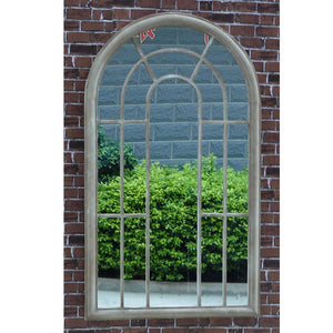 Tracey Metal Frame Garden Window Mirror - Notbrand
