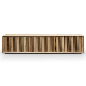 Marlo Entertainment TV Unit - Natural Ash Veneer 2m - Notbrand