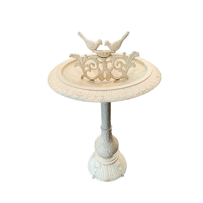 Twin Birds Cast Iron Bird Bath - Notbrand