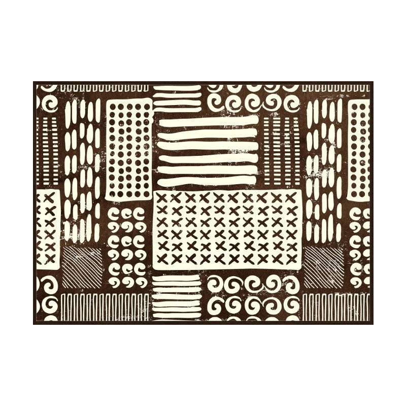 Abstract Tribal Wall Art - Notbrand