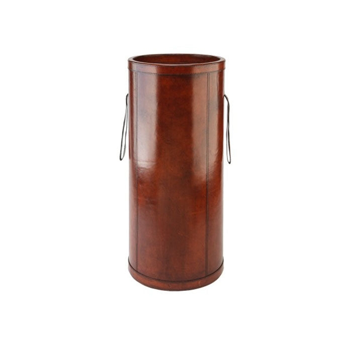 Tan Leather Umbrella holder