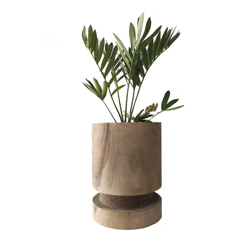 Grazia Large Natural Vessel Pot - Notbrand