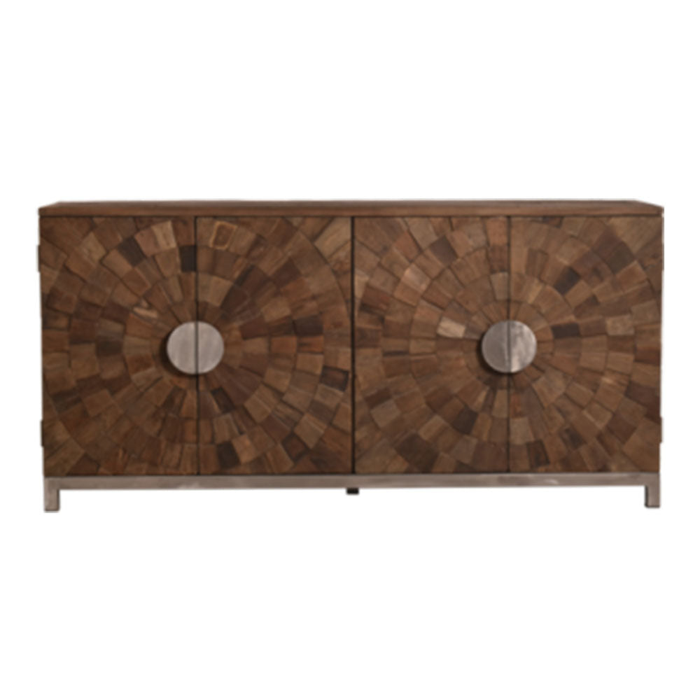 Roxy Prequetry Elm Sideboard - Notbrand