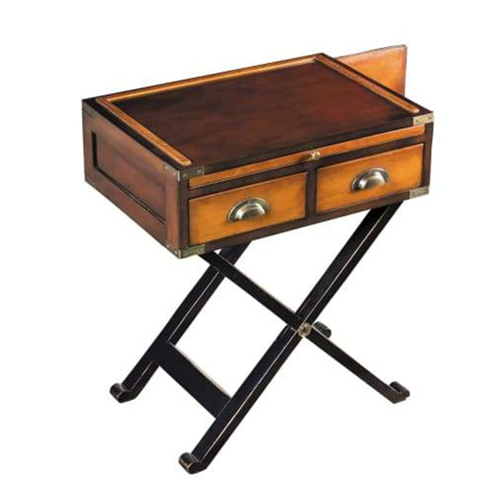 Campaign War Chest Side Table - Notbrand