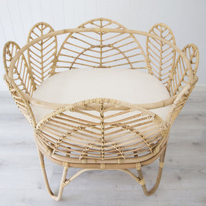 Heavenly Rattan Baby Bassinet – Natural - Notbrand