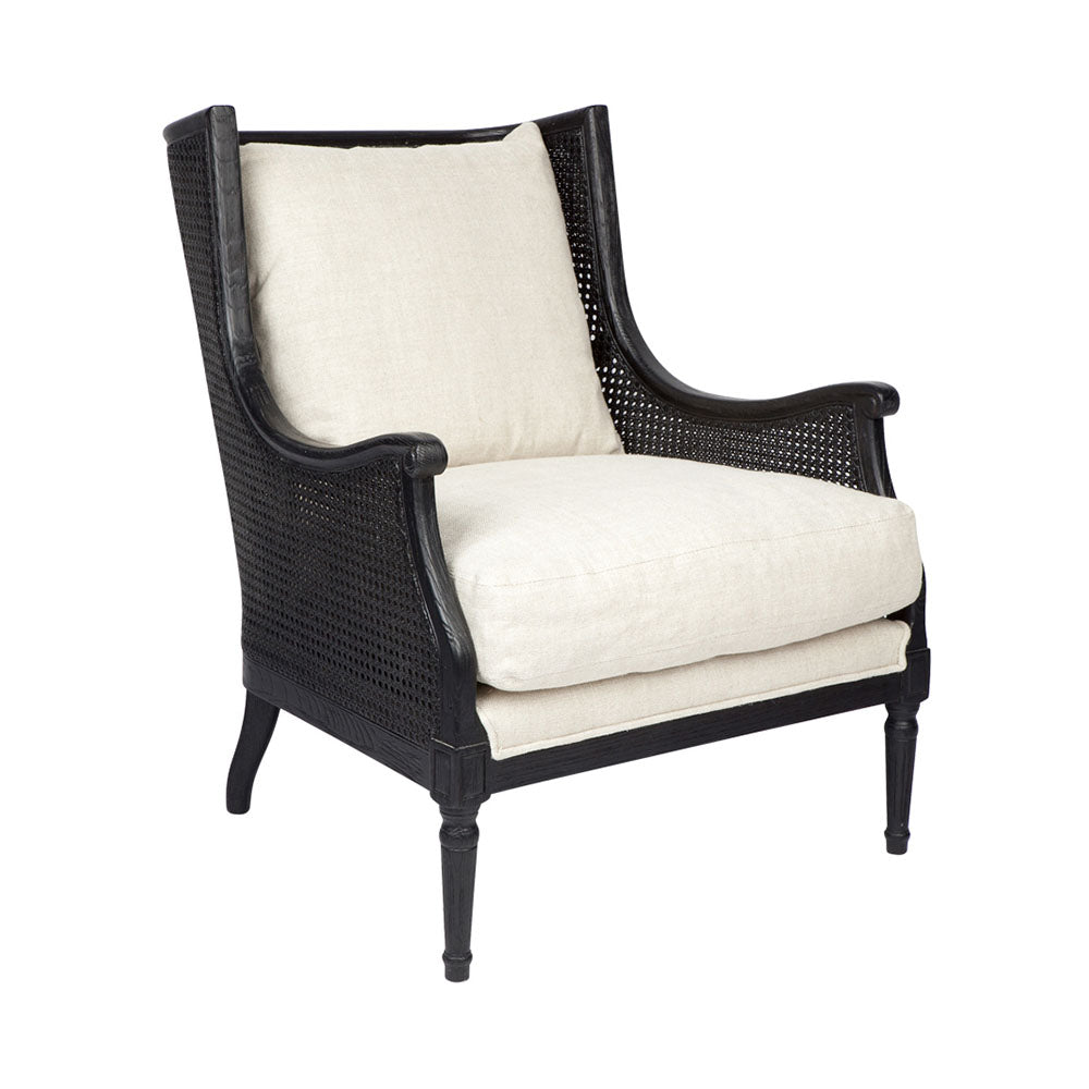 Havana Arm Chair - Black - Notbrand