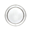 Zeta Wall Mirror - Round Antique Silver - Notbrand