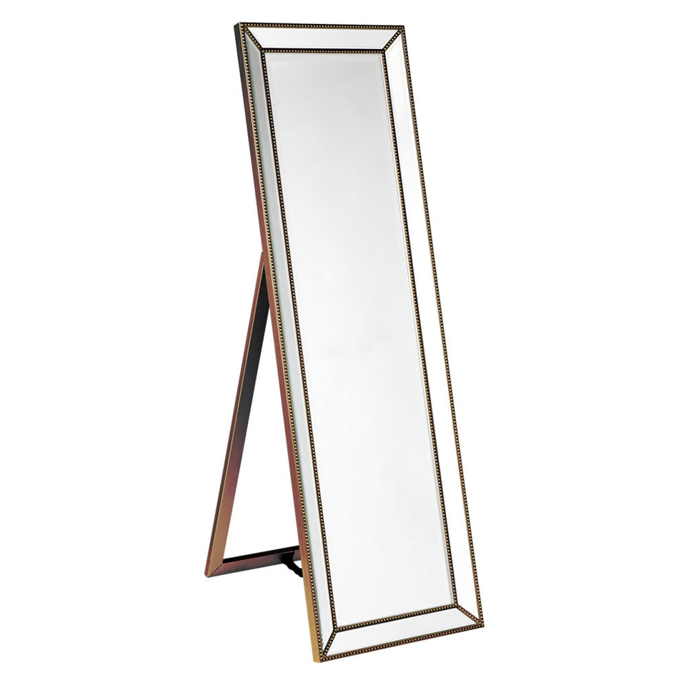 Zeta Cheval Mirror - Antique Gold - Notbrand