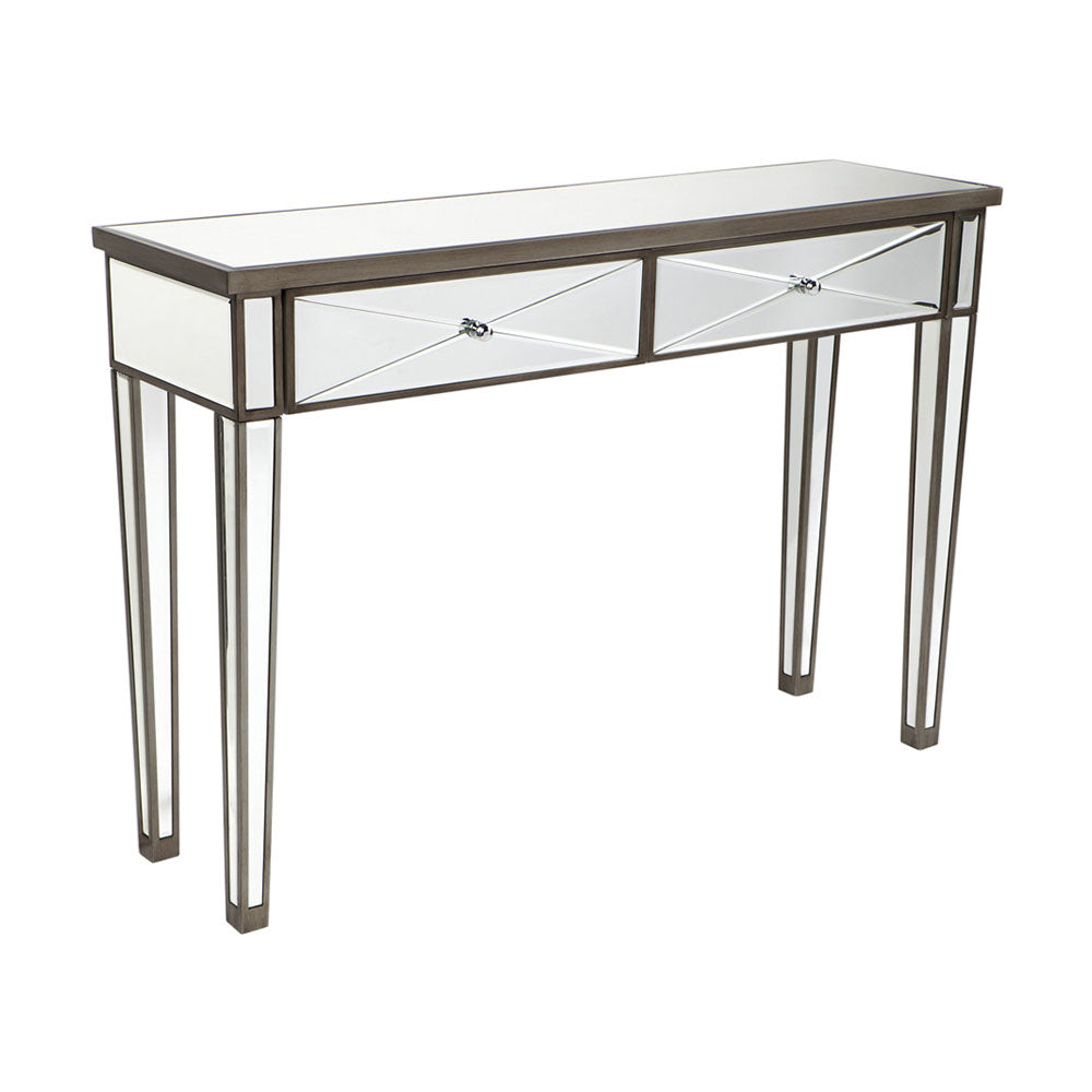 Apolo Console Table - Antique Silver - Notbrand