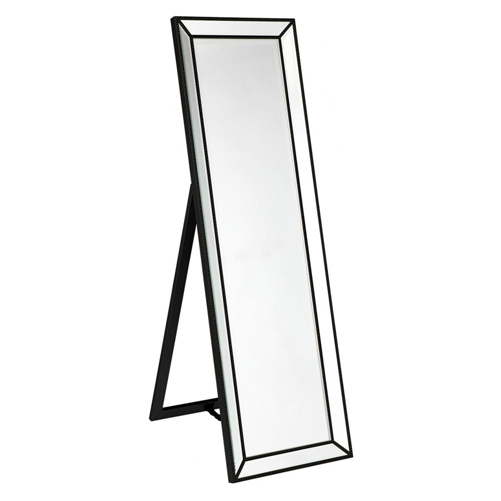 Zeta Cheval Mirror - Black - Notbrand