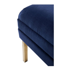 Broadway Bed End - Navy - Notbrand