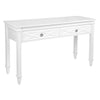 Plantation Console Table - White - Notbrand