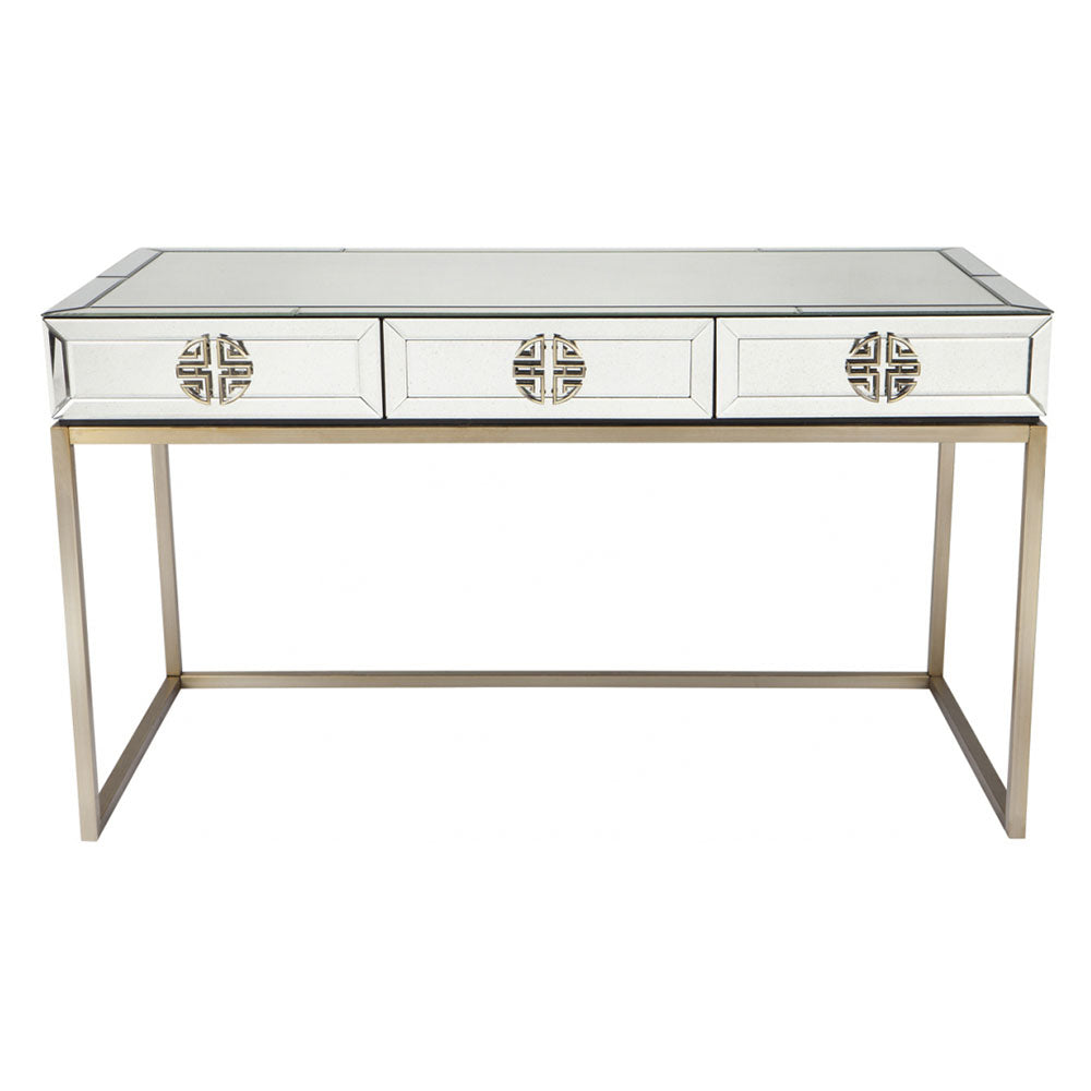 Rochester Mirrored Desk - Notbrand