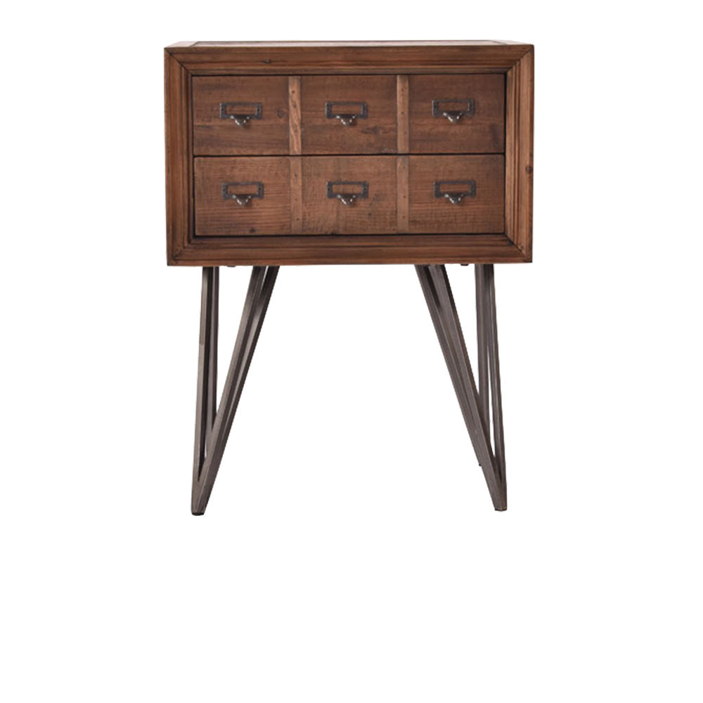 Pharmacy Drawer Reclaimed Side Table - Notbrand