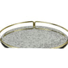 Belmont Vintage Glass Top Tray - Notbrand