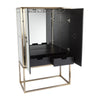 Rochester Mirrored Drinks Cocktail Cabinet - Notbrand