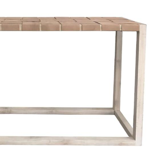 Pia Console Table Natural - Notbrand