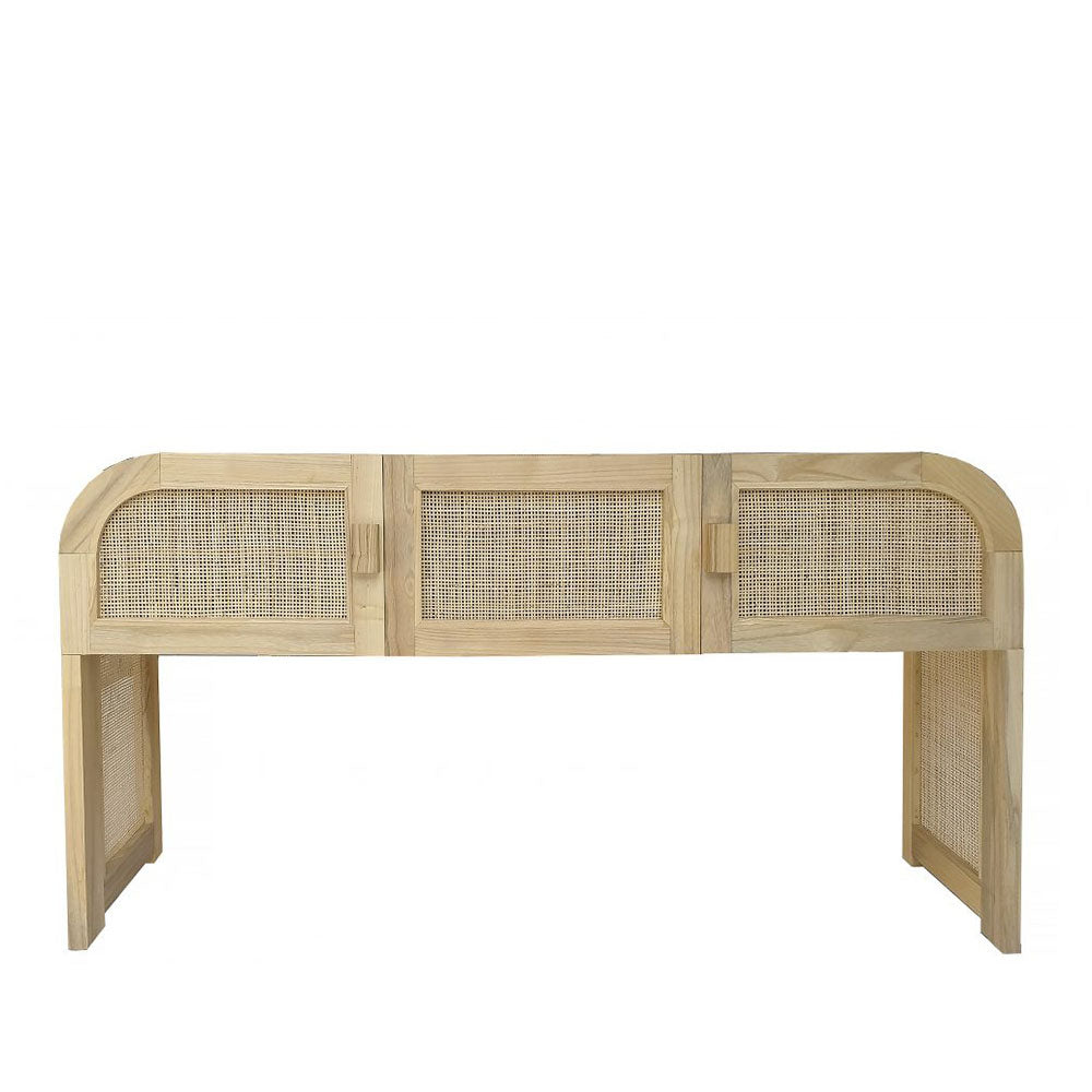 Grace Rattan Console Table - Notbrand