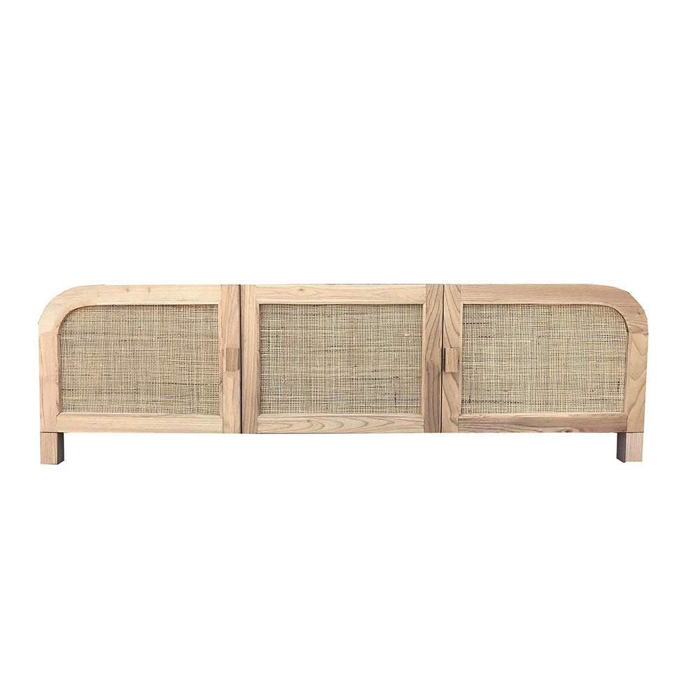 Grace Rattan Sideboard / Entertainment Unit Natural - Notbrand