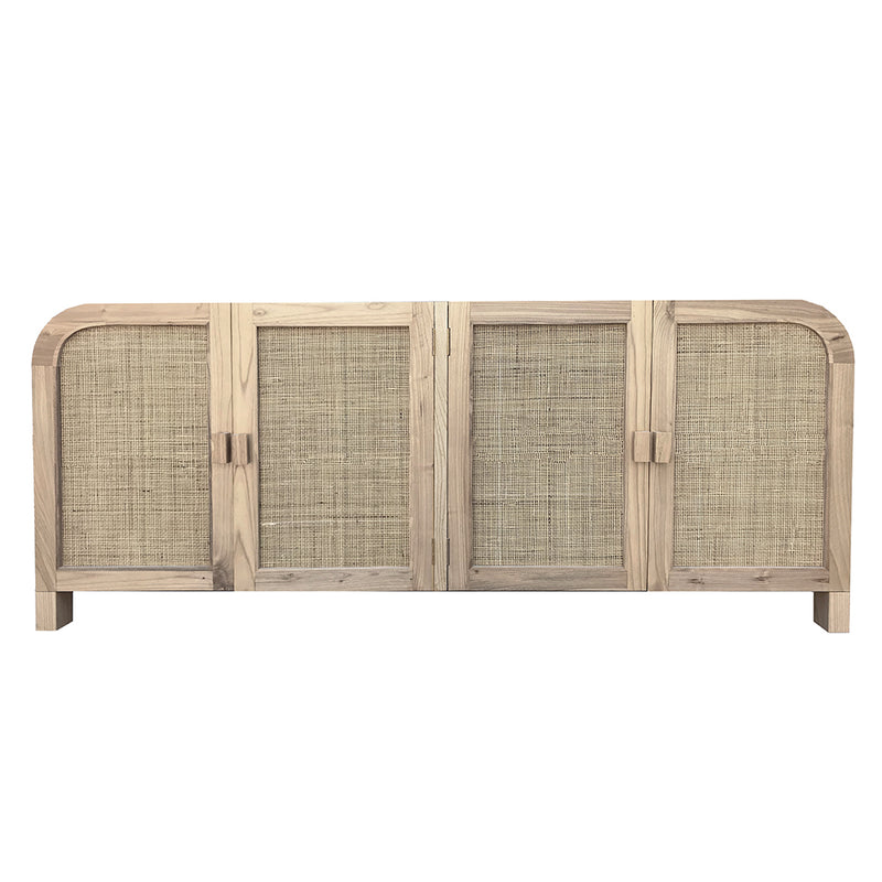 Grace Rattan Sideboard Buffet Natural - Notbrand