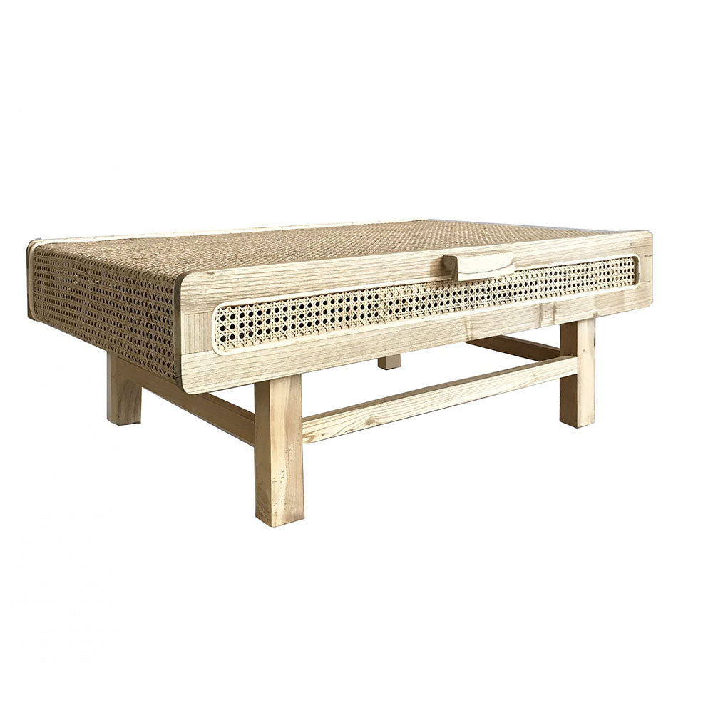 Hayme Rattan Coffee Table - Notbrand