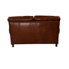 Graham 2 Seater Sofa Aged Leather - Notbrand