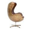 Aviator Swivel Chair Aged Leather - Notbrand