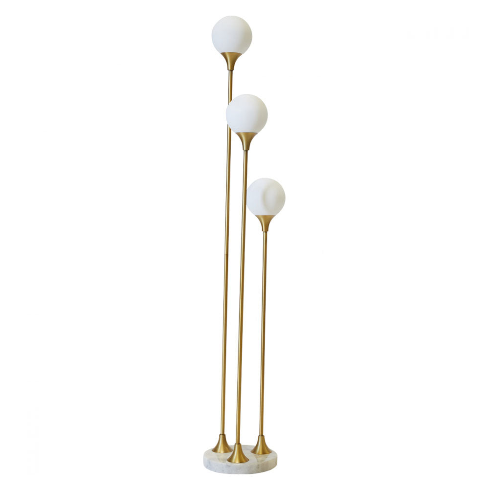 Retro Brass Floor Lamp - Notbrand